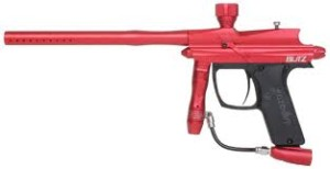 Azodin Blitz paintball gun rood