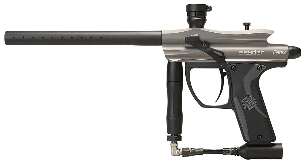 Kingman Spyder Fenix paintball geweer grijs